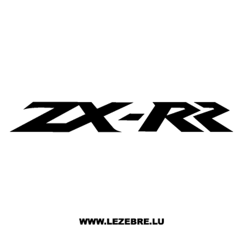 What Is The Font For Kawasaki Zxrr Logo