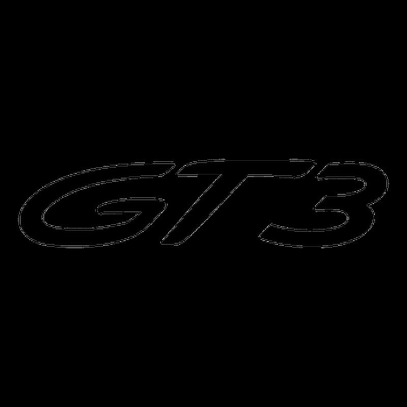 Porsche 911 GT3 Logo Decal