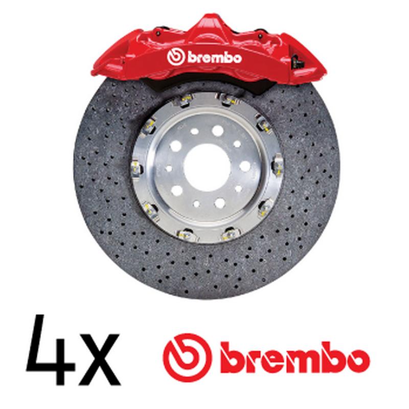 kit stickers 233trier frein brembo logo