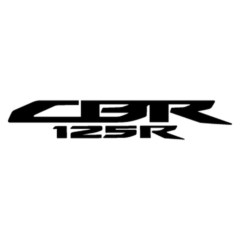 honda cbr 125r logo 2013 decal. Black Bedroom Furniture Sets. Home Design Ideas