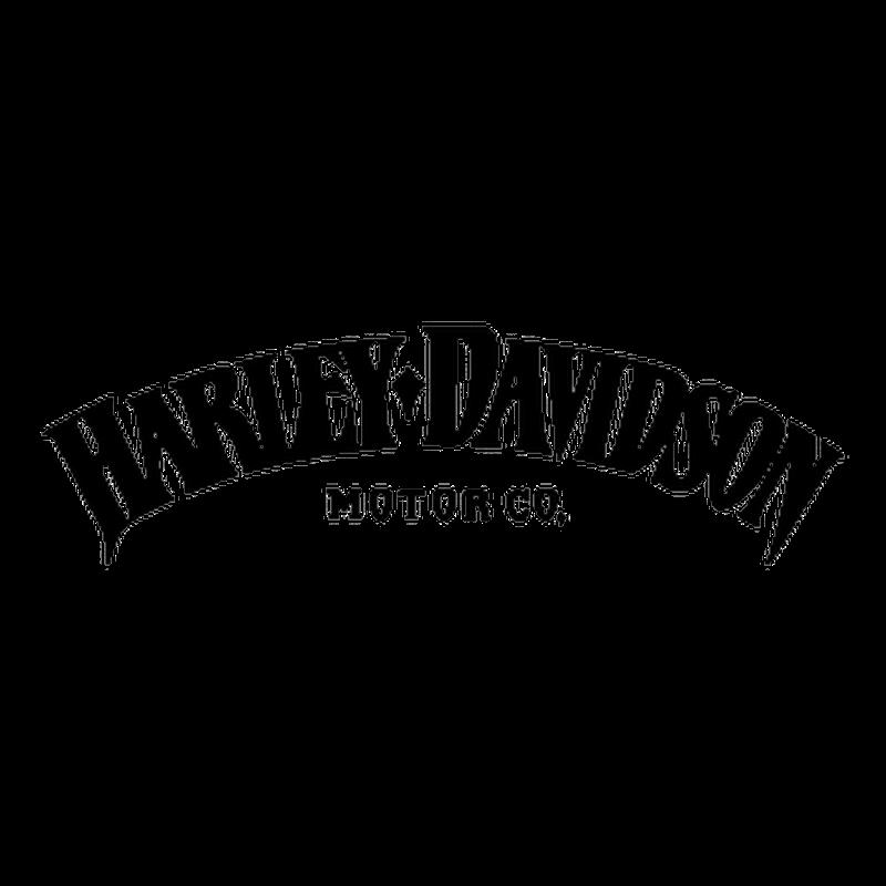 Harley-Davidson Iron 883 logo motorcycle Decal
