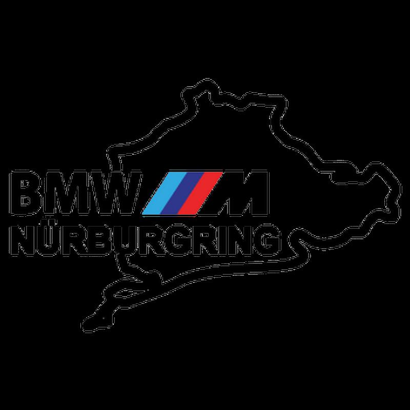 bmw m series n rburgring logo decal. Black Bedroom Furniture Sets. Home Design Ideas