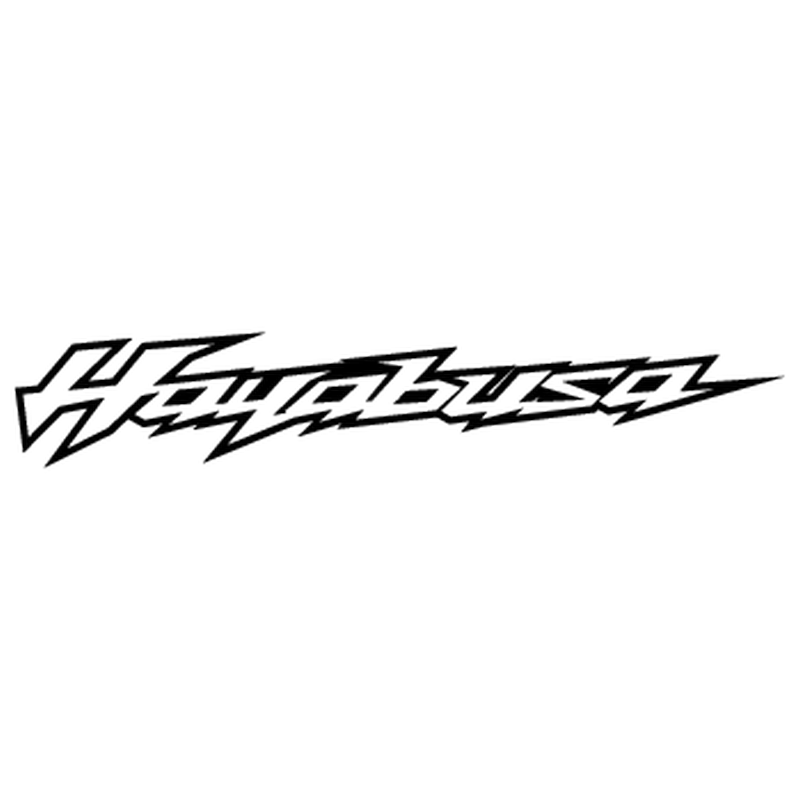 Sticker suzuki hayabusa logo 2013 contours - Film transparent autocollant ...