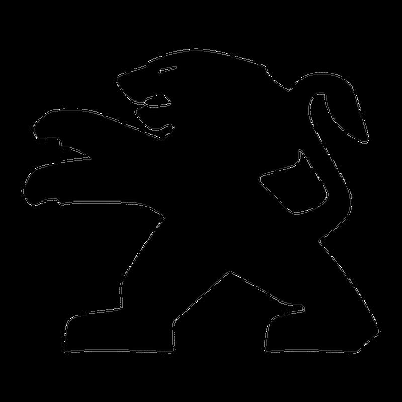 sticker peugeot lion logo 2013