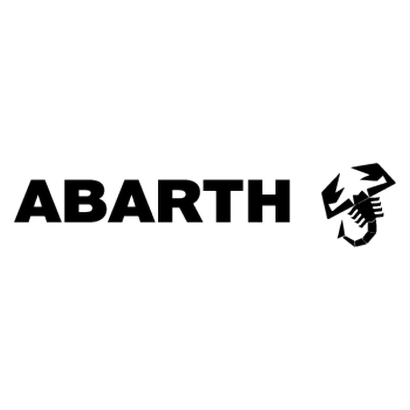 sticker fiat abarth scorpion droite logo. Black Bedroom Furniture Sets. Home Design Ideas