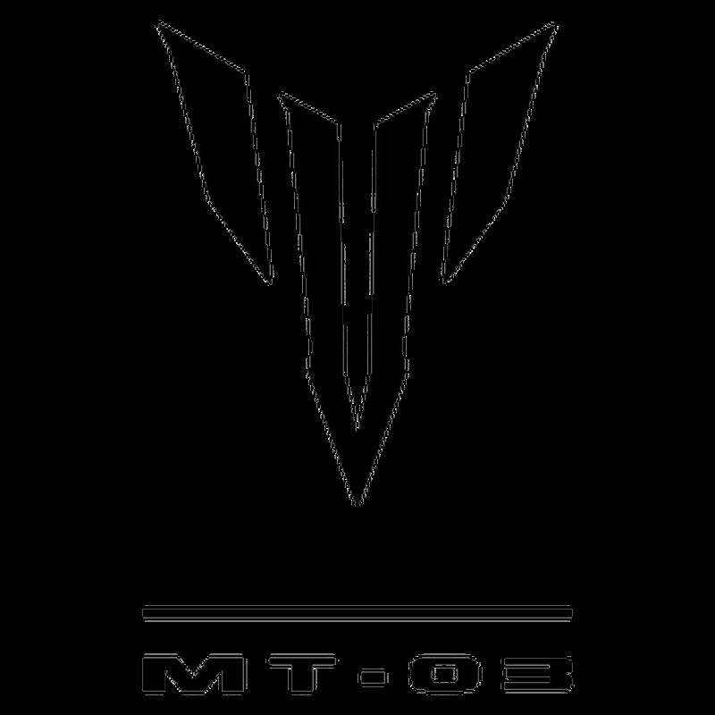 yamaha mt 03 logo decal. Black Bedroom Furniture Sets. Home Design Ideas
