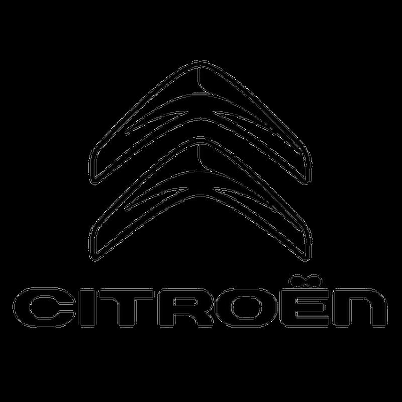 Citroen logo decal - Film transparent autocollant ...