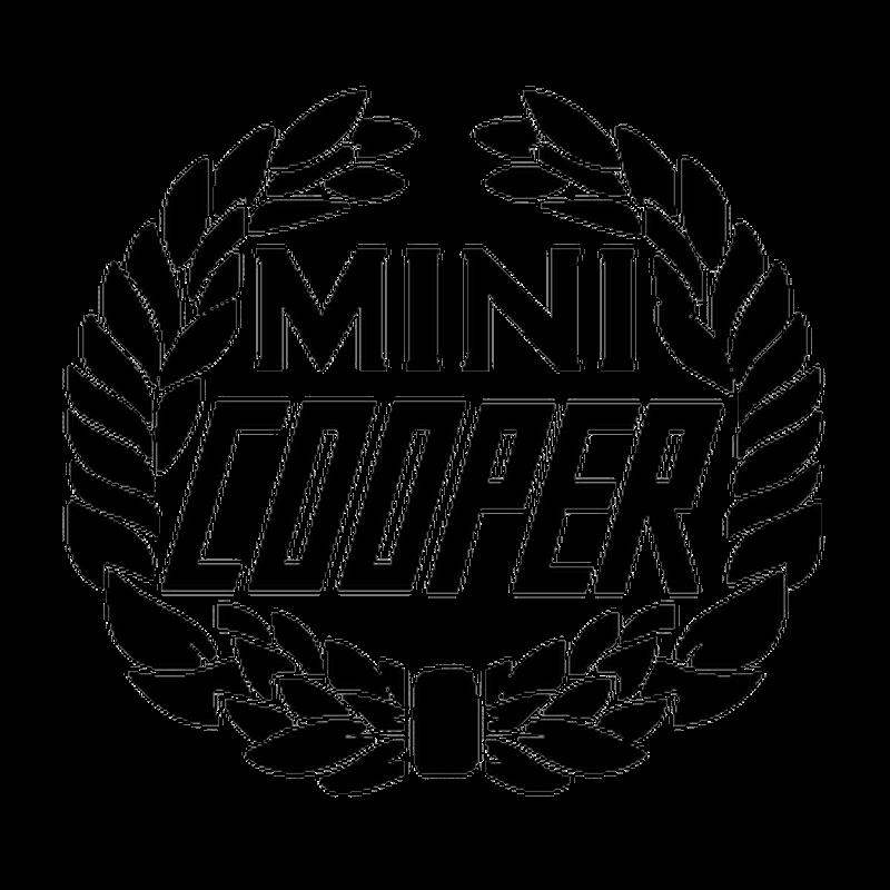 mini cooper logo decal