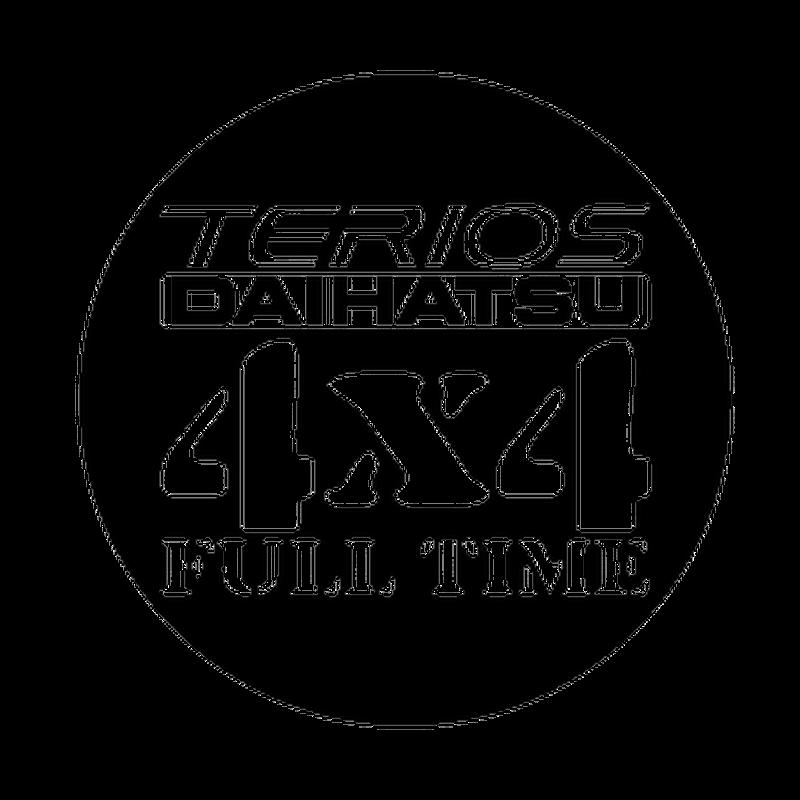 daihatsu terios 4x4 logo decal