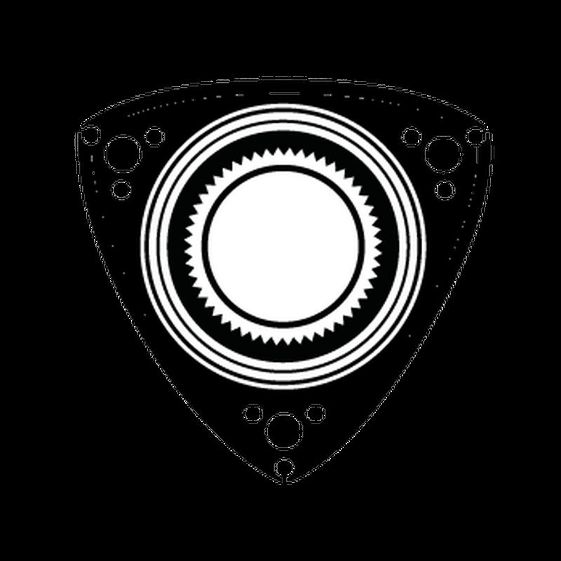 mazda wankel rotary logo decal. Black Bedroom Furniture Sets. Home Design Ideas