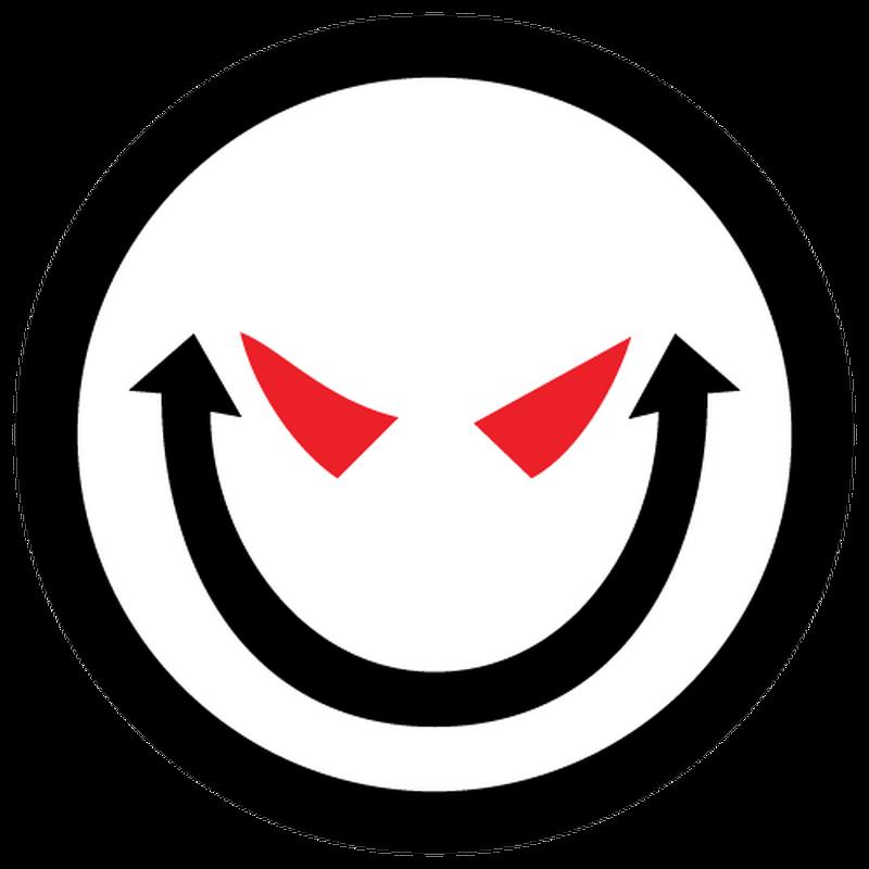 Jdm smiley devil decal - Film transparent autocollant ...