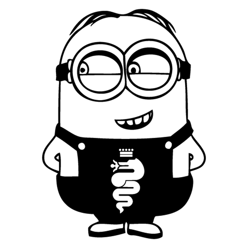 minion alfa romeo decal