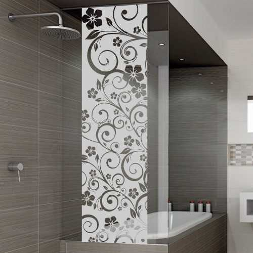 door clings large size of diy damask frost window With stickers porte douche