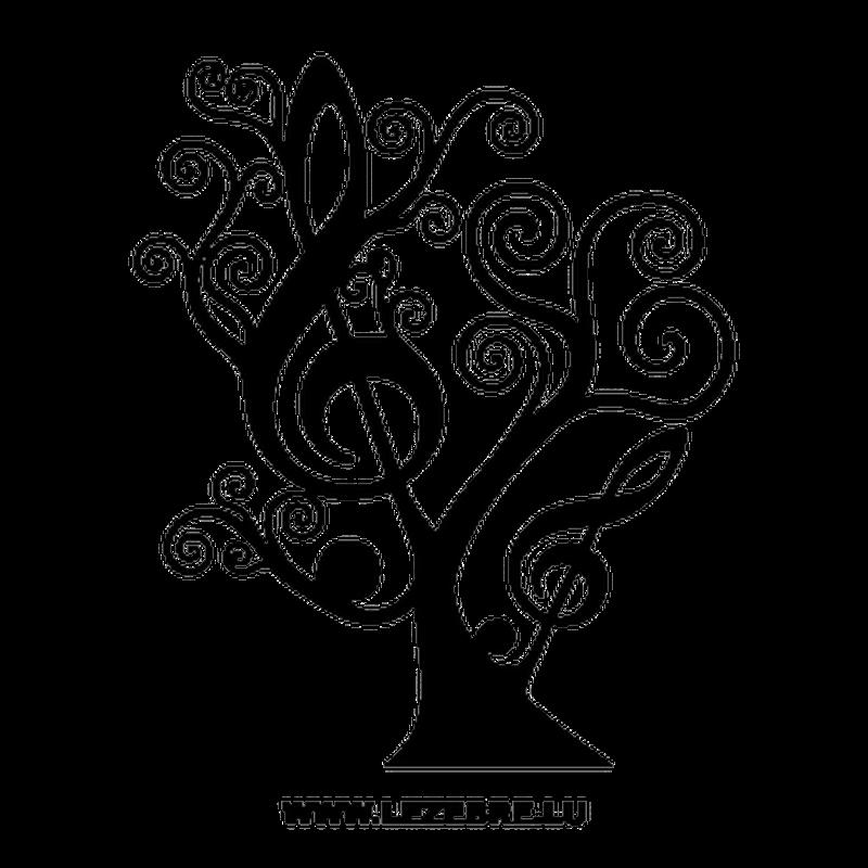 sticker arbre floral cl de sol. Black Bedroom Furniture Sets. Home Design Ideas