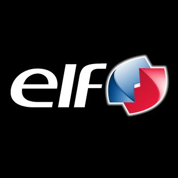 Elf logo color decal - Film transparent autocollant ...