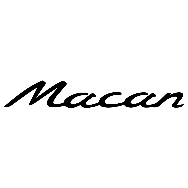 Porsche Macan Logo Decal