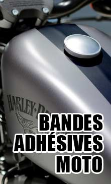 BANDES adhésives Moto