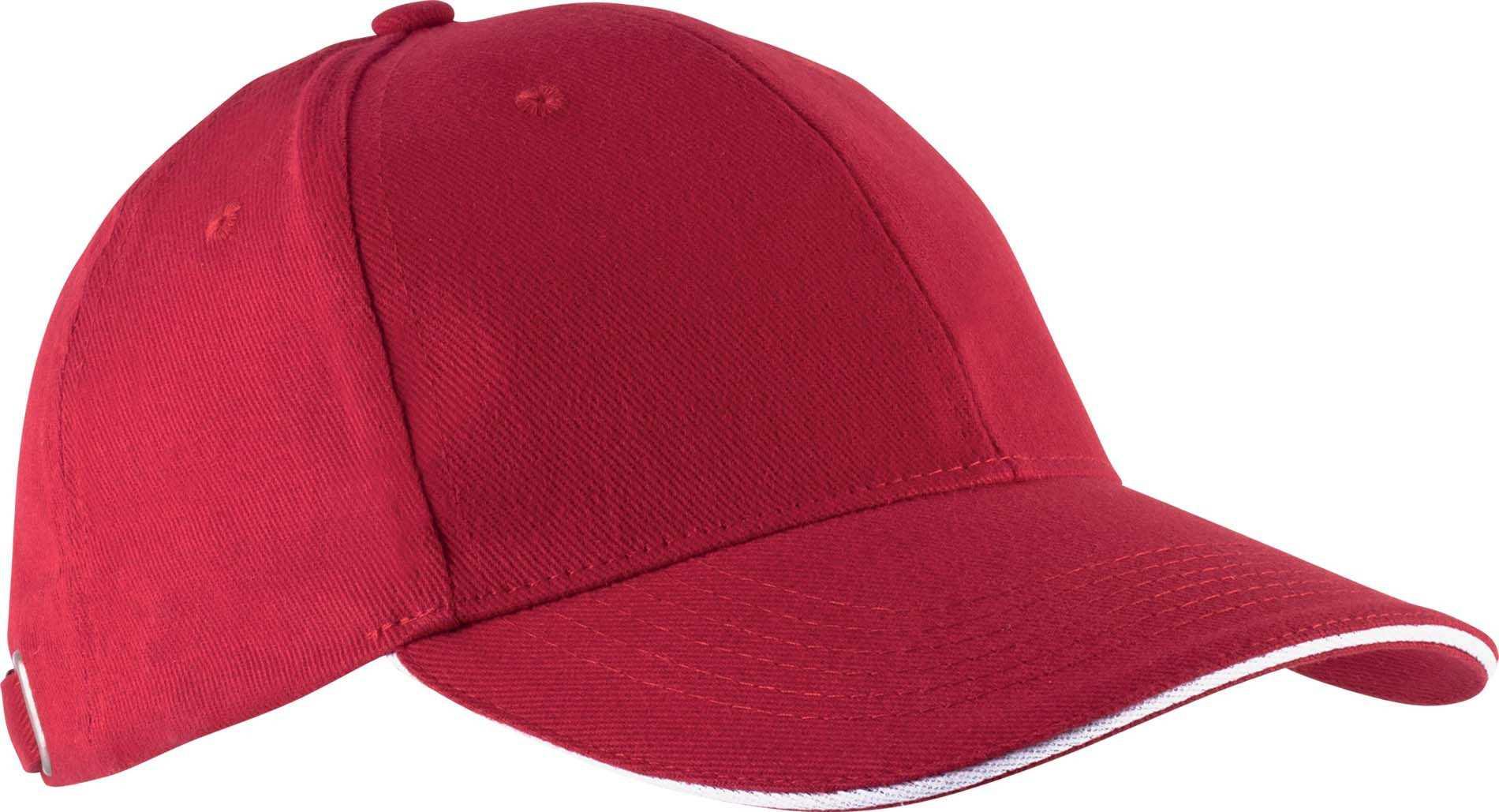 casquette rouge americaine