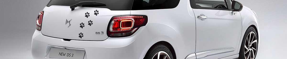 Autocollant décoratif Citroën DS3