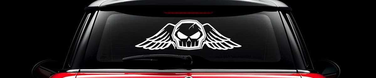 Stickers no fear pour voiture