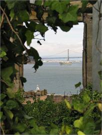 Dekoaufkleber Alcatraz San Francisco