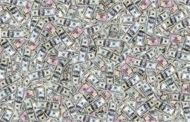 Sticker Déco Géant Dollars