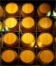 Decoration Sticker Wine barrel