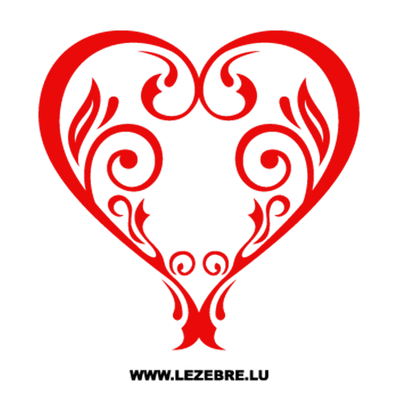Vintage Heart Decal