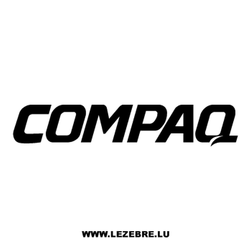 Compaq logo Decal
