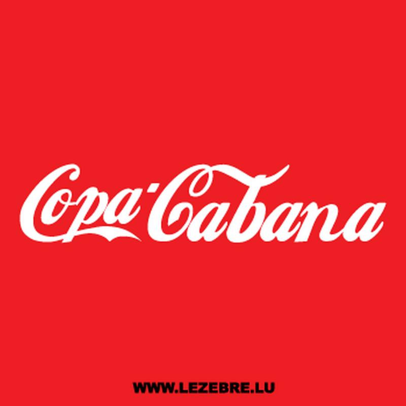 Tee-shirt Copa Cabana parodie Coca-cola
