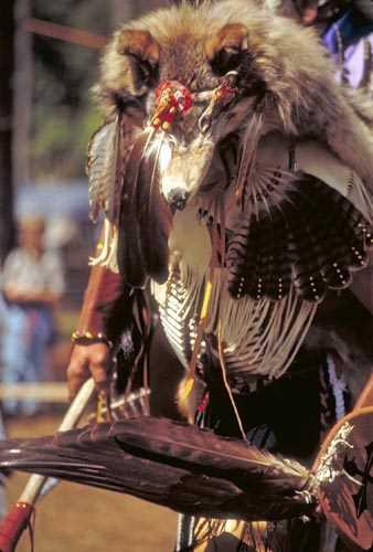 Sticker groß Indianer 2