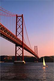 Lisbon Bridge April 25 Decoration Decal