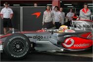 Decoration Sticker McLaren Mercedes F1 Grand Prix
