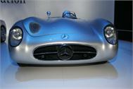 Mercedes Oldtimer Decoration Decal