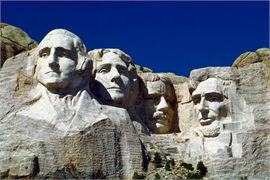 Mount Rushmore Decoration Decal