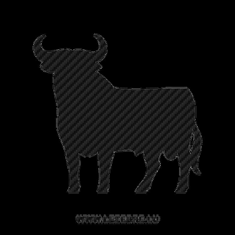 Spanish Bull Carbon Decal