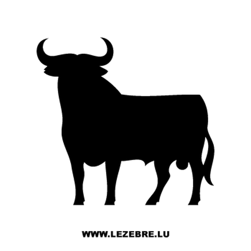 Spanish Bull Decal