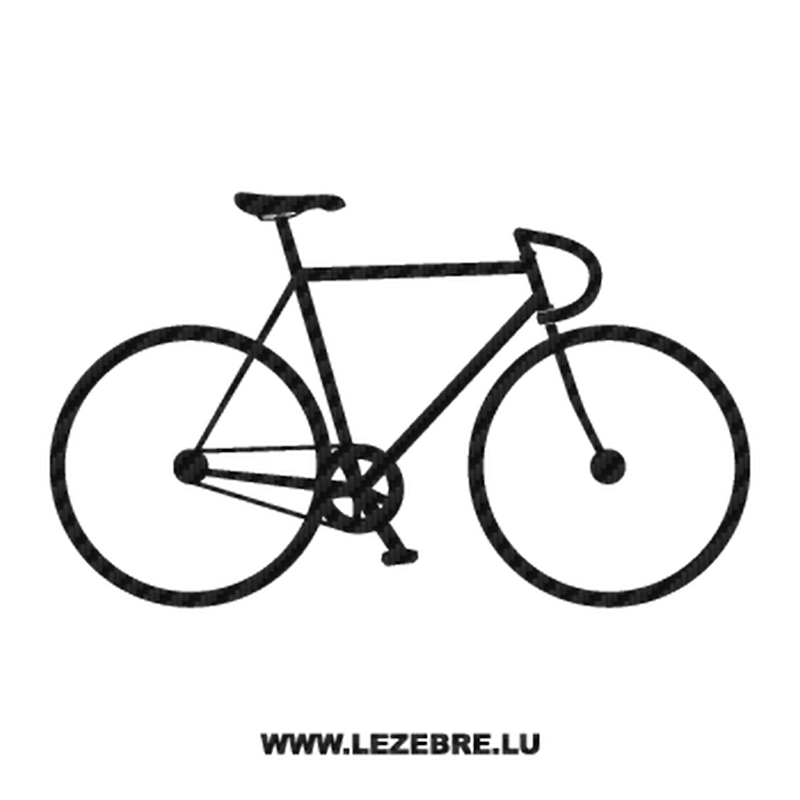 Bike Race Carbon Decal