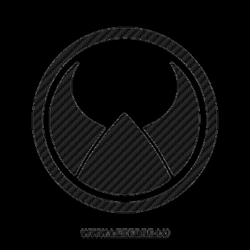 Volvo Heico Sportiv Logo Carbon Decal