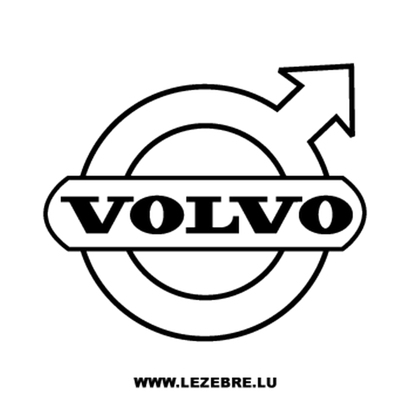 Volvo logo Decal 2