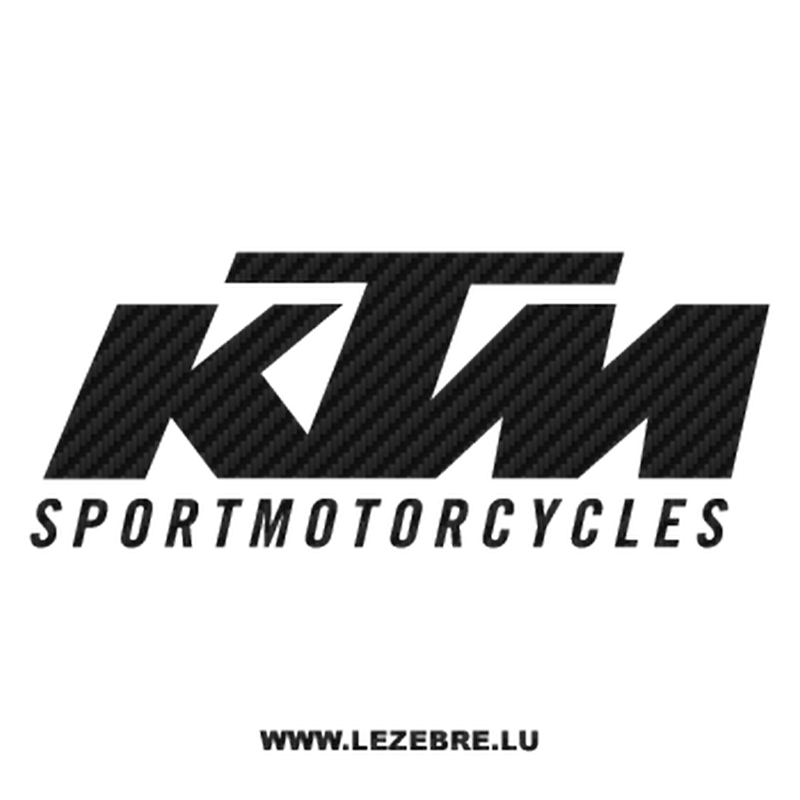 Sticker Carbone KTM SportMotorcycles