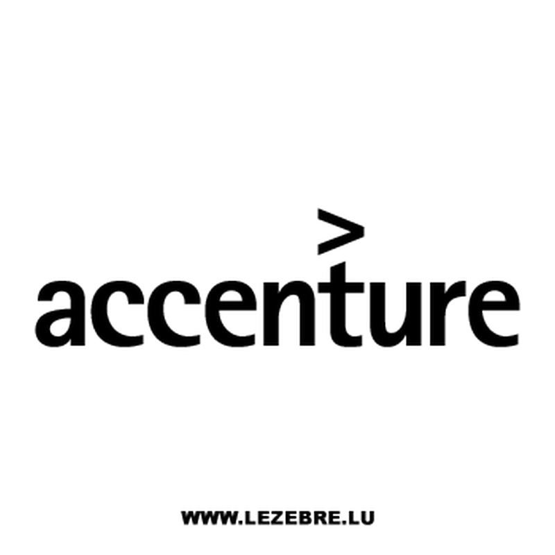 Accenture Logo Decal