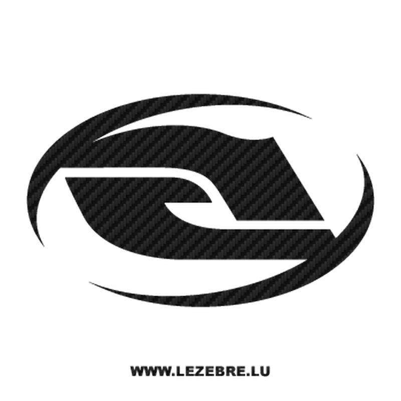 Sticker Carbone Answer Racing Logo 2