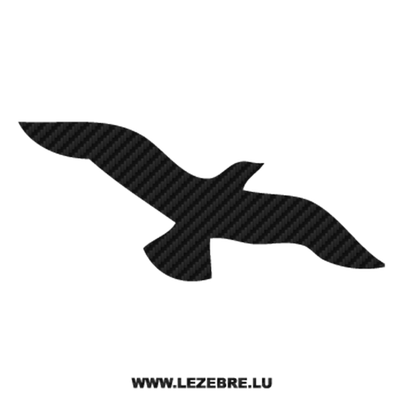 Dove Carbon Decal