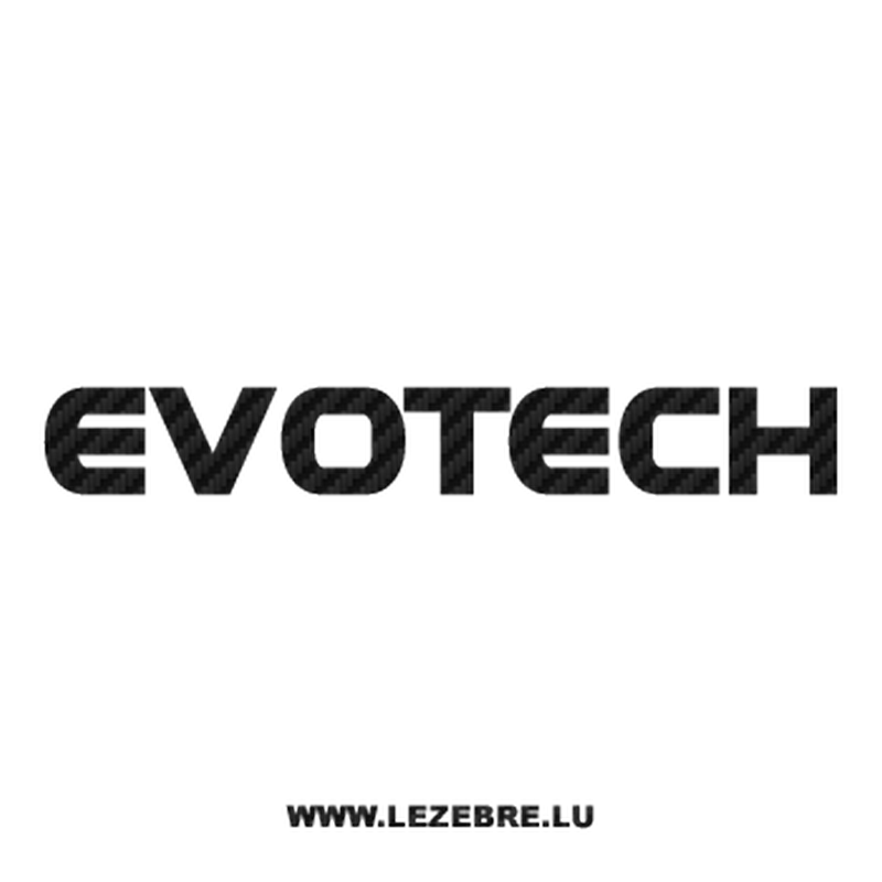 Evotech Carbon Decal