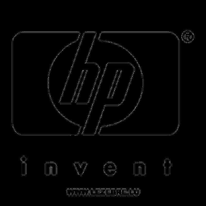 Sticker Hp Invent Logo
