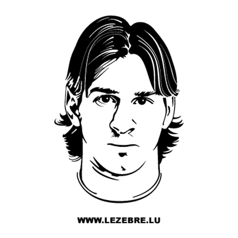 Lionel Messi Decal