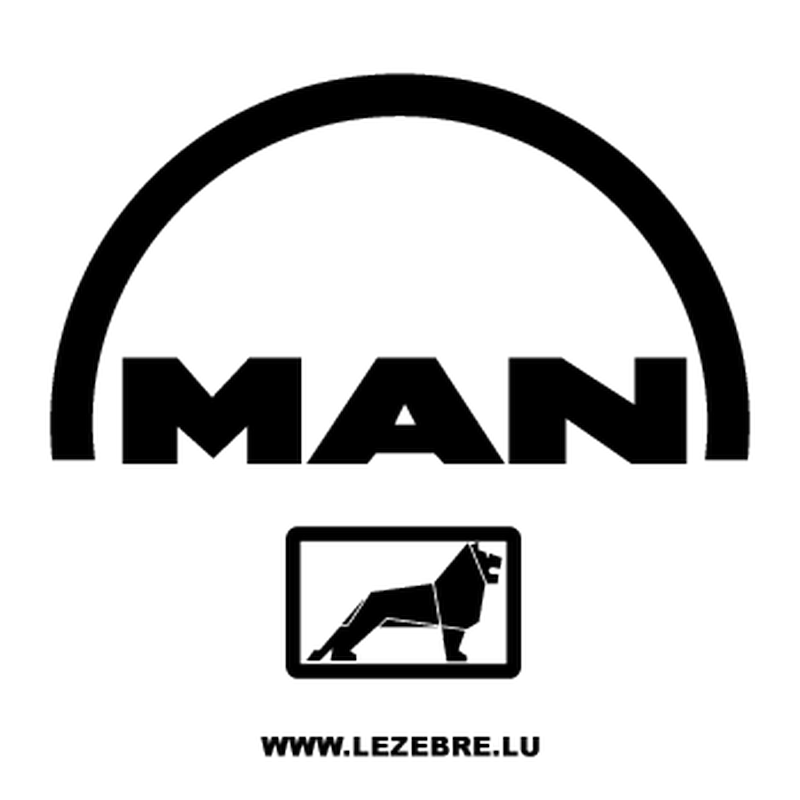 Man logo Decal