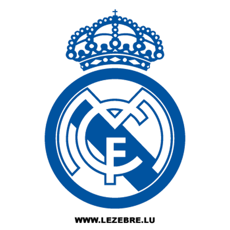 Real Madrid Football Club Decal 2