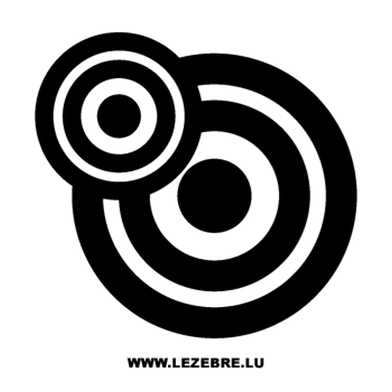 Rounded Circles Decal